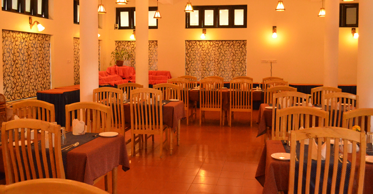 Multicuisine Restaurant Stylishly laid Restaurant