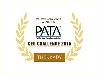 Top Destination Award for Thekkady | PATA